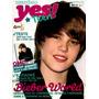 Revista Pôster Justin Bieber 2010 Nova! = 52x81cm + Letras!
