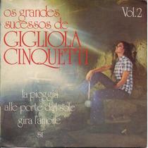 Gigliola Cinquetti Compacto Vinil - Grandes Sucessos Vol. 2
