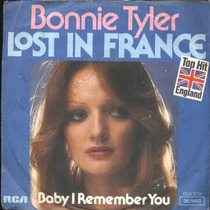 Bonnie Tyler - Compacto De Vinil Import. Lost In France-1976
