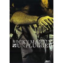 Dvd Ricky Martin - Mtv Unplugged * Lacrado Raridade Original
