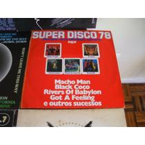 Lp Vinil - Super Disco 78 Original Hits, 1978