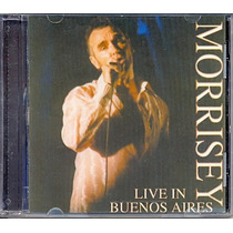 Cd Morrisey - Live In Buenos Aires - 2000 - The Smiths