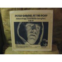 Peter Gabriel.live At The Roxy.vinil Duplo Importado.raro.