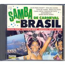 Cd Samba De Carneval De Brasil - Enredo Carnaval Rio 1989