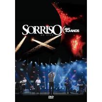 Dvd Sorriso Maroto - 15 Anos Ao Vivo *** Frete Grátis ***