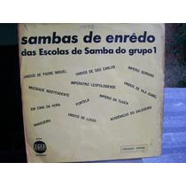 Lp. Samba Enredo Das Escolas Do Grupo 1- Rio 1972