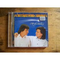 Chitãozinho & Xôroro - Cd - Edição 1997