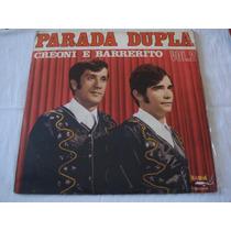 Parada Dupla-lp-vinil-vol 2-creoni-barrerito-trio Parada Dur