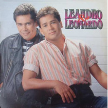 Leandro E Leonardo Lp Leandro E Leonardo 1992 Encarte