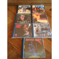 7 Cds Raros Originais!!!!! Jean Claude Van Damme Jcvd