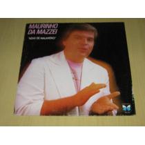 Maurinho Da Mazzei - Azar De Malandro - 1989 - Lp Vinil