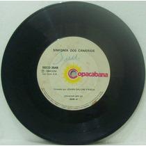 Compacto Vinil Johan Dalgas Frisch - Sinfonia Dos Canarios -