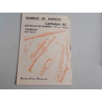 Revista Sambas De Enredo - Carnaval 82 - Frete Gratis