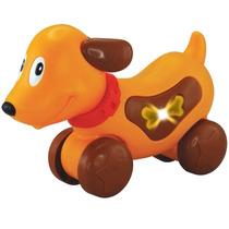Brinquedo Infantil Sonoro Cãozinho Musical Bebe Dican