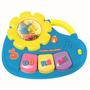 Brinquedo P/ Bebê Infatil Músico Teclado Galinha Pintadinha