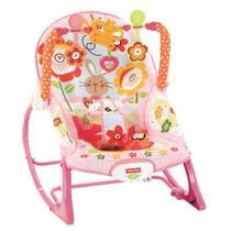 Cadeira Musical Fisher-price P/ Bebês E Crianças - Rosa