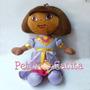 Boneca De Pelúcia Dora Aventureira Princesa