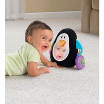 Espelho Infantil De Pinguim De Pelúcia Musical Fisher-price
