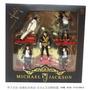 5 Miniaturas Michael Jackson - Importado - Lacrado