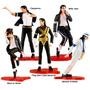 Michael Jackson Kit 5 Bonecos Smooth Criminal Billie Jean E+