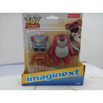 Imaginext - Toy Store - Lotso, Chunck E Robô - Fisher Price