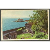Postal Salvador Bahia, Com Selo - Ponta Do Monte Serrate
