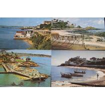 14 Cartão Postal Antigo Salvador Ba Diversas Vistas
