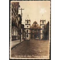 Cartão Postal Antigo Salvador Bahia Igreja São Francisco