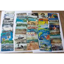 50 Cartões Telefônicos Nacionais (s/ Repetições) Frete Gráti