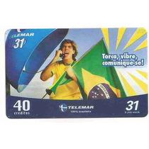 5837 Cartões Telefônicos 5 Tarjinhas Diferentes Ver Texto