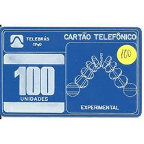X6095- Cartão Telefônico- Teste