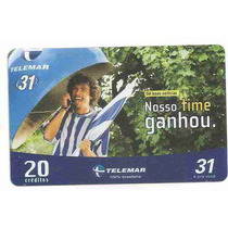 5846 Cartões Telefônicos 5 Tarjinhas Diferentes Ver Texto