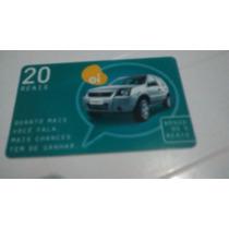 Cartão Telefônico Oi Ecosport R$ 20,00 Usado Para Colecionar