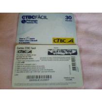 271 - Cartão Telefônico Pré-pago Telefonia Fixa - 30 Reais