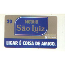 *sll* Cartão Telefônico Nestlè São Luiz 1995 S/uso