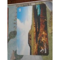 Cartão Raro Da B. Telecom 5/02. Tir. 50000. Chapada Veadeir
