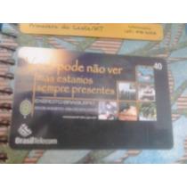 Cartão Raro Da B. Telecom 8/04. Tir. 45455. Dia Do Soldado