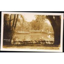 Cartão Postal Antigo Belo Horizonte Mg Parque