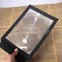 Lupa A4 Lente Fresnel Flexível Import Aumento 3x Disponivel
