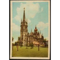 Cartão Postal Antigo Belo Horizonte Mg Igreja Boa Viagem