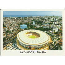 Postal Futebol Brasil Arena Fonte Nova Ba **