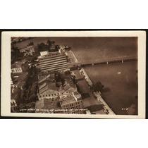 Cartão Postal Antigo Recife Pe Vista Aérea Praça Da Republic
