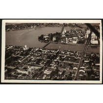 Cartão Postal Antigo Recife Pe Vista Aérea 4