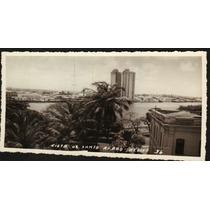 Cartão Postal Antigo Recife Pe Vista Bairro Santo Amaro