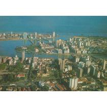 17933 - Postal Recife, Pe - Vista Aerea Panoramica