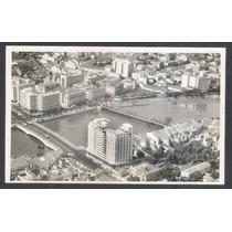Postal Antigo, Recife Duas Pontes Vista Aérea