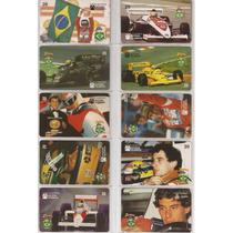 Serie Completo 12 Cts Airton Senna Do Brasil