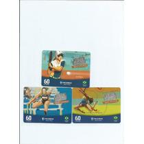 Cartões Telefonicos - Tarjinha Varias- (3 Cartões) - 4.00