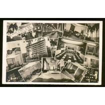 Cartão Postal Antigo Hotel Casino Icari Niterói Rj 1942