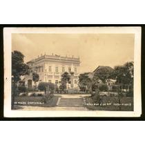 Cartão Postal Antigo Resende Rj Praça Centenário